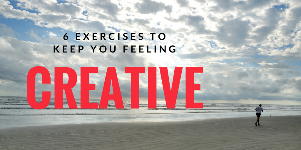 6 Exercises to Keep you Creative Twitter