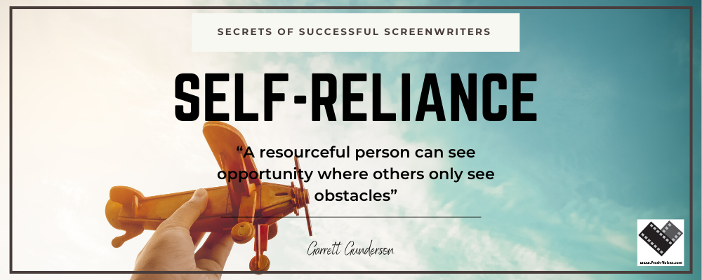 Secrets of Successful Screenwriters.Self Reliance 1000x400